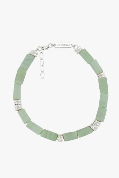 Wildthings: Modell 'Aqua bay bracelet silver'