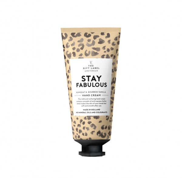 The Gift Label: Modell 'Handlotion Tube - Stay fabulous'