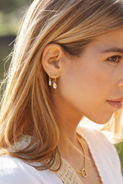 Wildthings: Modell 'Wander earring gold plated'