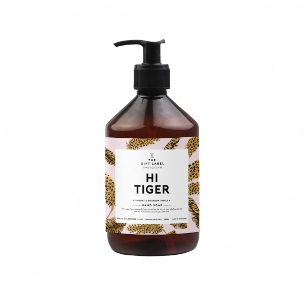 The Gift Label: Modell 'Handsoap - Hi tiger'