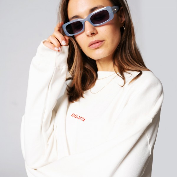 On Vacation: Modell 'Sweater Dolce Vita - White'