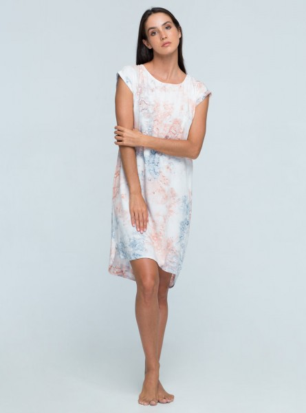 Buddha Wear: Modell 'Lesly Mini Dress - Cotton Candy'