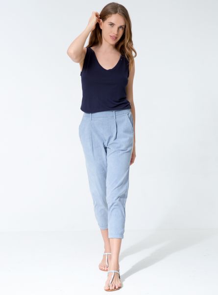 Saskia Pants - Light Vintage Blue