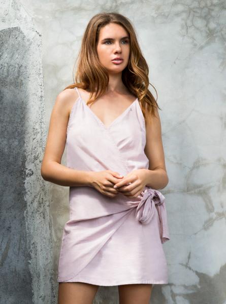 Buddha Wear: Modell 'Imke Dress - New Rose'