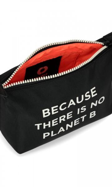 Ecoalf: Modell 'Vanity Case W Message - Black'