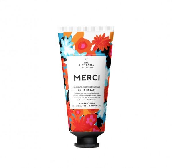 The Gift Label: Modell 'Handlotion Tube - Merci'