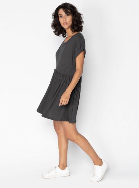 Buddha Wear: Modell 'Inta Mini Dress - Steel'