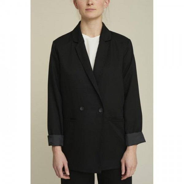 Basic Apparel: Modell 'Thelma Blazer - Black'