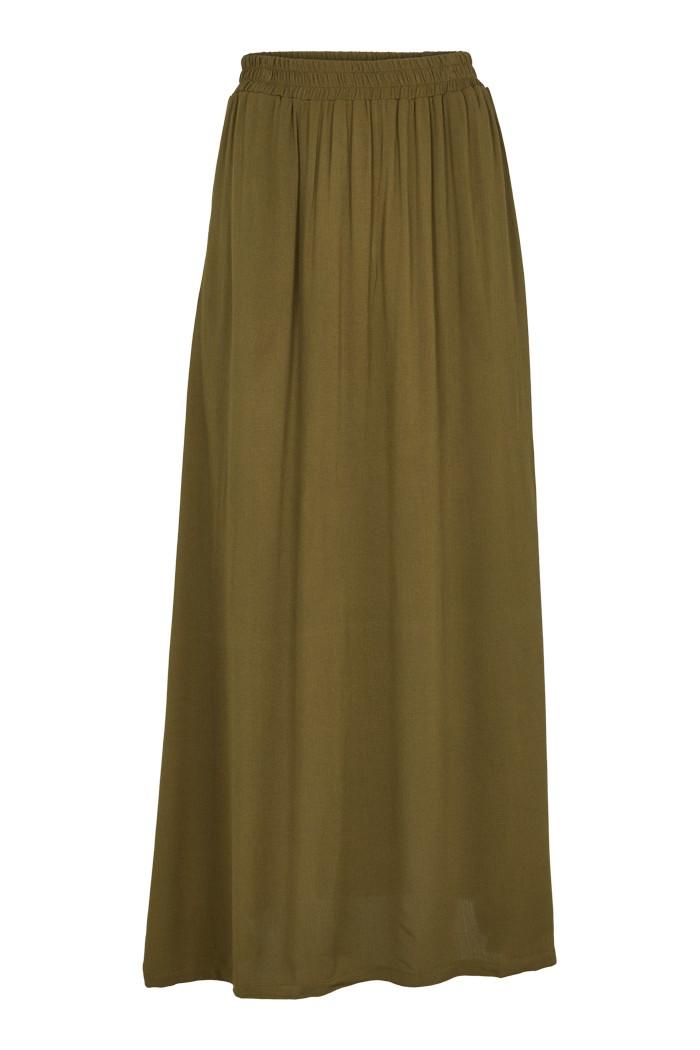 Basic Apparel: Modell 'Felicia Skirt - Army'