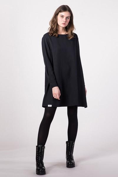 [eyd]: Modell 'Kleid Dayita - Schwarz'