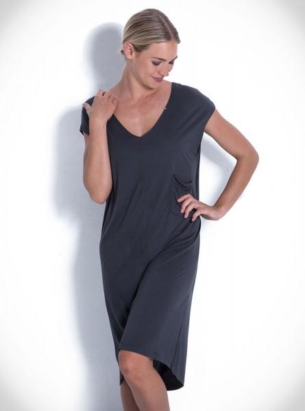 Buddha Wear: Modell 'Grace Dress - Steel'