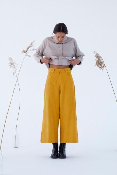 Suite 13: Modell 'Imari Pants - Sun Flower'