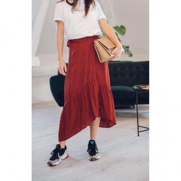Alina Skirt - Russet Red