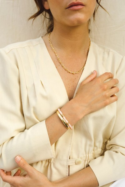 Wildthings: Modell 'Pink Cloud Bracelet Gold'