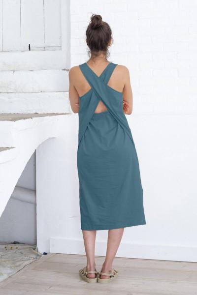 Suite 13: Modell 'Nador Dress - Blue Spruce'