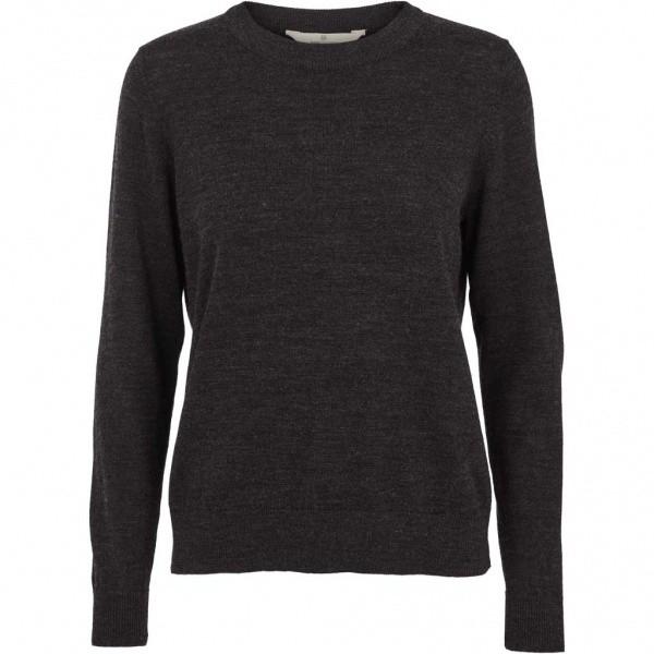 Vera Sweater - Dark Grey Melange