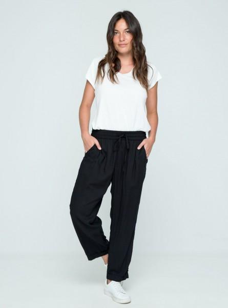 Buddha Wear: Modell 'Jonna Long Pants - Black'