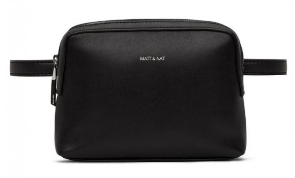 Matt & Nat: Modell 'Paris Belt Bag Loom - Black'