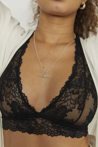 Wild Fawn: Modell 'Balanced bar necklace'