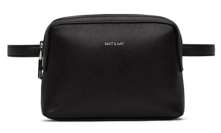 Matt & Nat: Modell 'Paris Belt Bag Loom - Black'