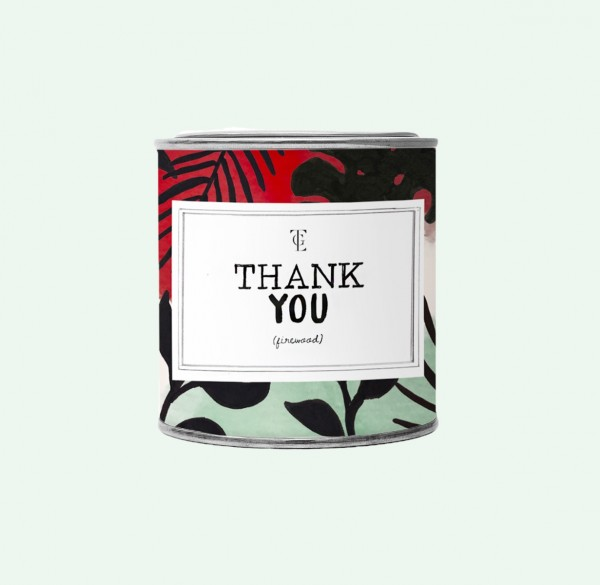 The Gift Label: Modell 'Candle - Thank you'
