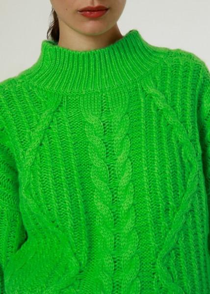 FRNCH: Modell 'Tara Pullover - Green'