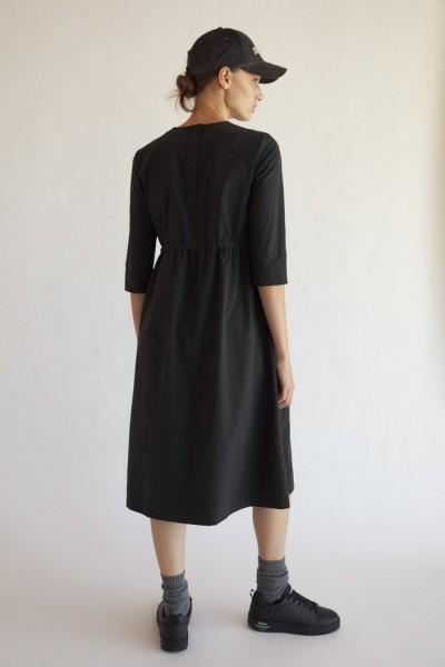 Ecoalf: Modell 'Gabriel Long Dress - Black'
