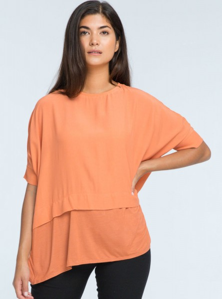Buddha Wear: Modell 'Fay Blouse - Blush'