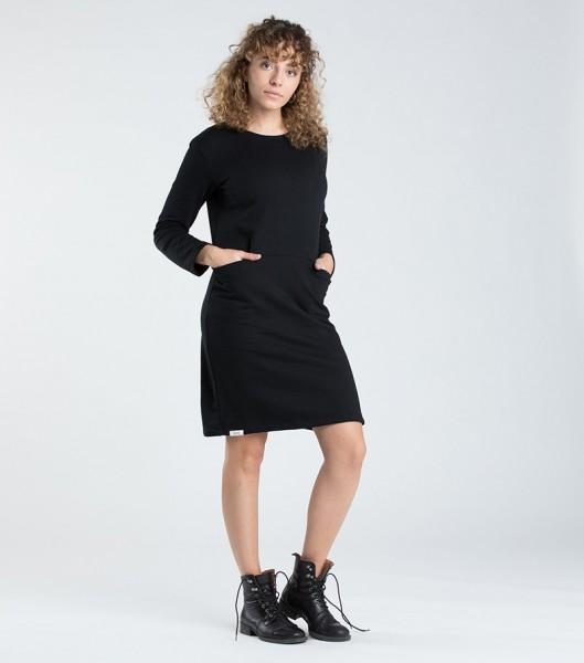 [eyd]: Modell 'Kleid Kaitha - Schwarz'