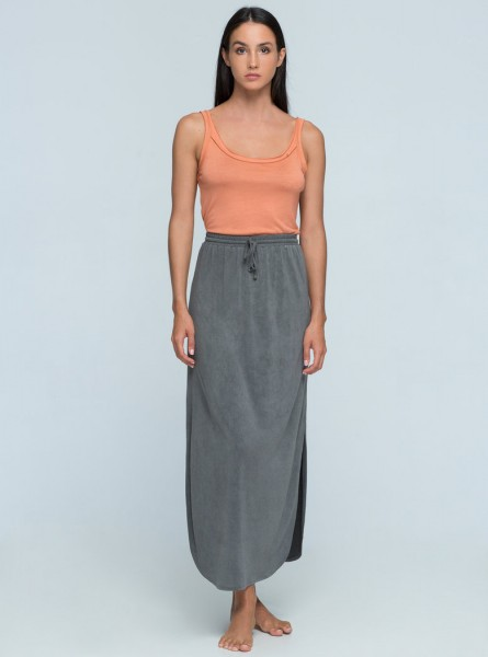 Buddha Wear: Modell 'Paige Skirt - Vintage Grey'