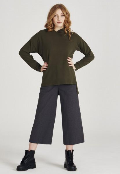 Givn: Modell 'Mona Sweater - Dark Olive'