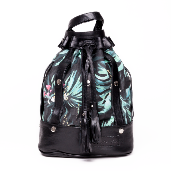 The Statement Thing: Modell 'Sama Bag - Tucan Jungle Blue'