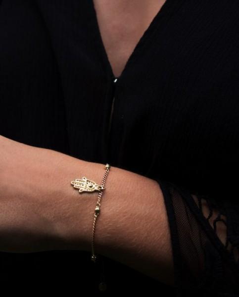 Santi Santi: Modell 'Nyaman Bracelet - Gold'