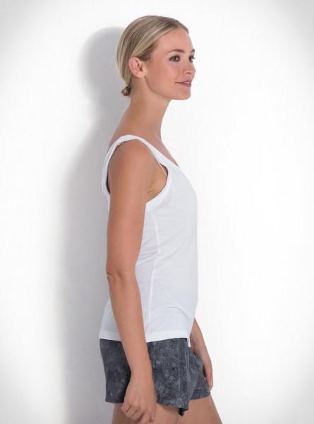 Buddha Wear: Modell 'Aretha Top - White'