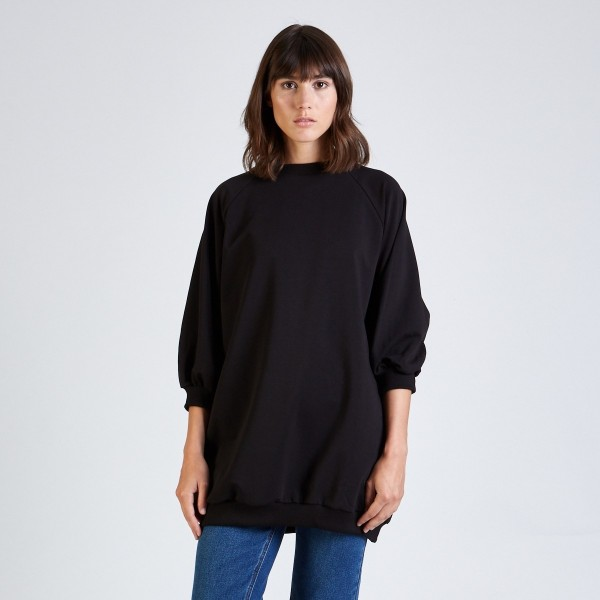 Stoffbruch: Modell 'Darcy Sweater - Black'