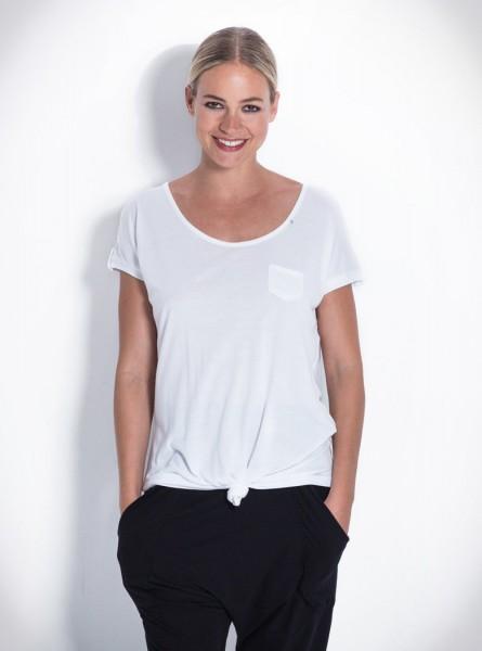 Buddha Wear: Modell 'Marlene Shirt - White'