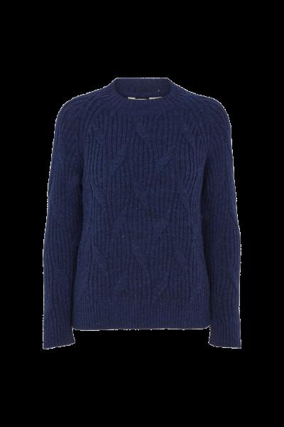 Basic Apparel: Modell 'Linea Sweater - Dark indigo'