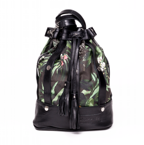 The Statement Thing: Modell 'Sama Bag - Tucan Jungle Green'