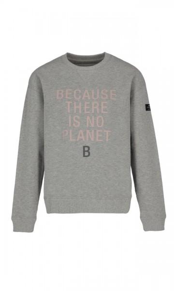 Ecoalf: Modell 'Llanes Because Sweatshirt - Grey Melange'