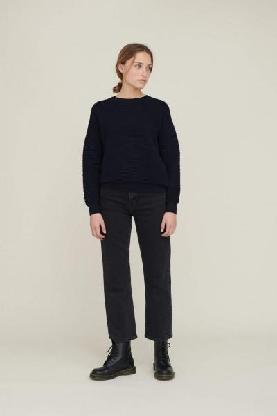 Basic Apparel: Modell 'Ellen Jeans Washed - Washed black'