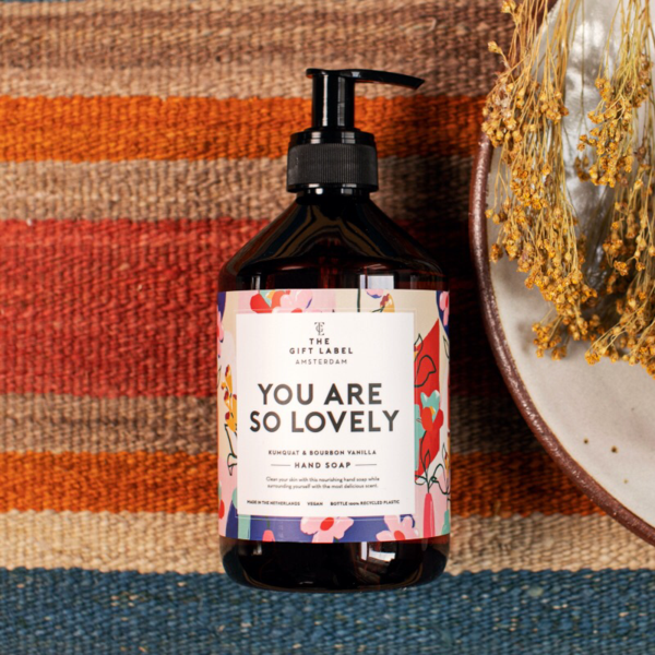 The Gift Label: Modell 'Handsoap - You are so lovely'