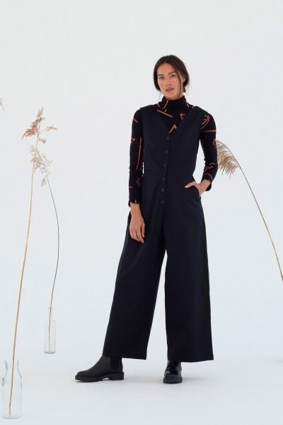 Suite 13: Modell 'Oda Jumpsuit - Black'