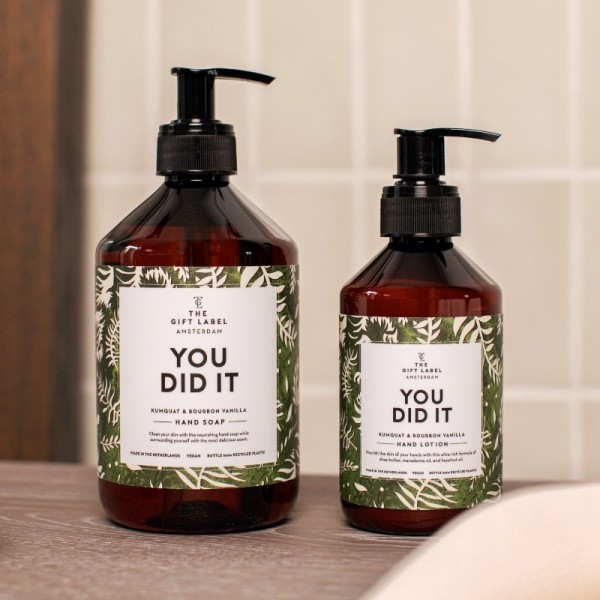 The Gift Label: Modell 'Handsoap - You did it'