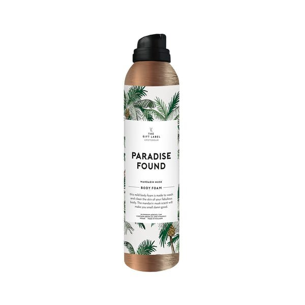 The Gift Label: Modell 'Body Foam - Paradise Found'
