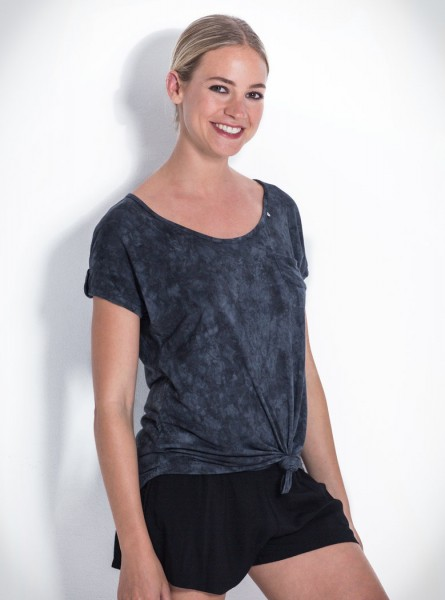 Buddha Wear: Modell 'Marlene Shirt - Shades of Grey'
