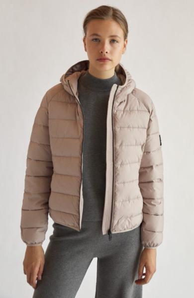 Ecoalf: Modell 'Asp Jacket - Rosewood'
