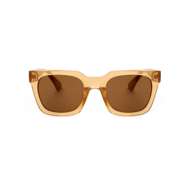 A.Kjærbede: Modell 'Nancy Sonnenbrille - Light Brown Transparent'