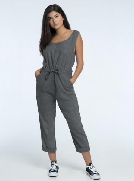 Buddha Wear: Modell 'Elea Jumpsuit - Vintage Grey'