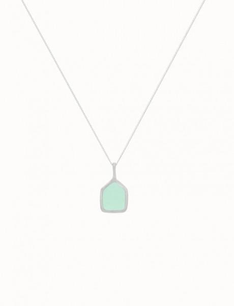 Flawed: Modell 'Jade Affair Necklace - Silber'