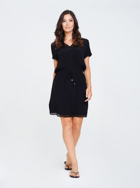 Buddha Wear: Modell 'Haven Dress - Black'